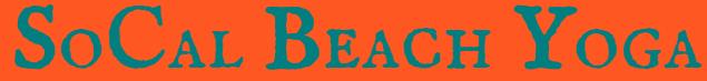 SoCal Beach Yoga Logo